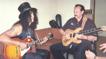 Slash with Nokie